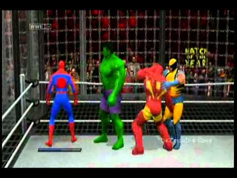 DeZmonD's Caws SVR11 - Marvel All Star Elimination Chamber