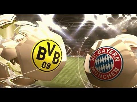 FIFA 13 Prognose: Das große Finale Borussia Dortmund Bayern München