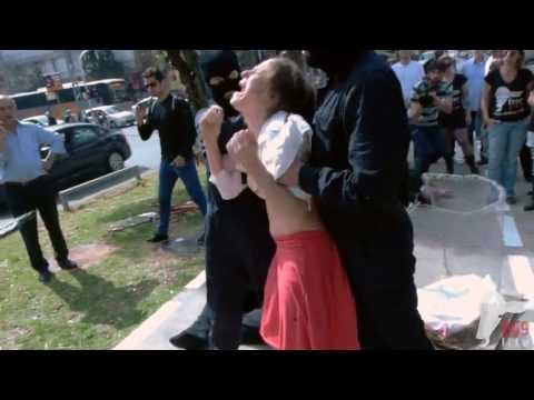Women forcefully milked in the street (269life animal rights performance) thumbnail