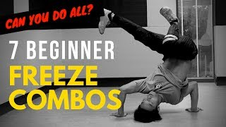 7 Basic Freeze Combos To Master For Beginner Bboys & Bgirls