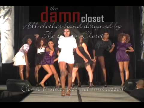 The Damn Salon Fashion Show for the World Natural Hair Show 2010