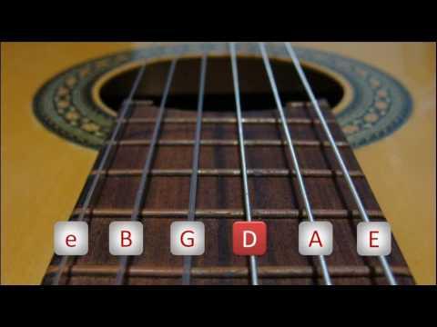 Como afinar uma guitarra ou viol�o