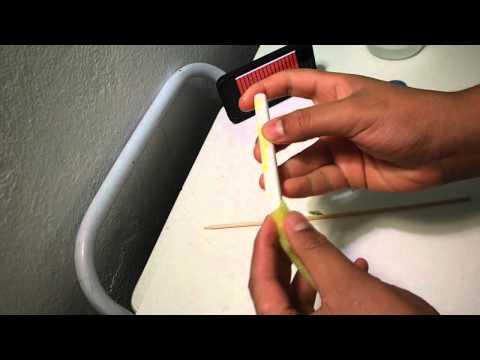 Como fazer uma caneta Stylus para iPhone.iPad.iPodTouch  !