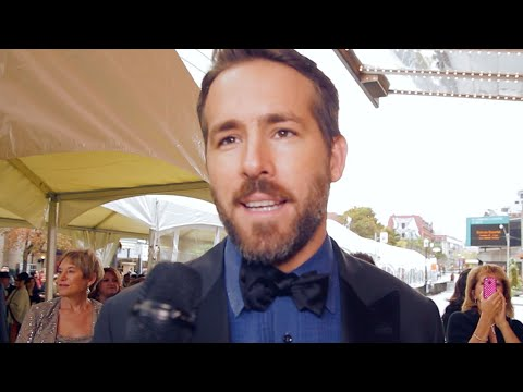 Ryan Reynolds, Jason Priestley & More at Canada's Walk of Fame | JUNO TV