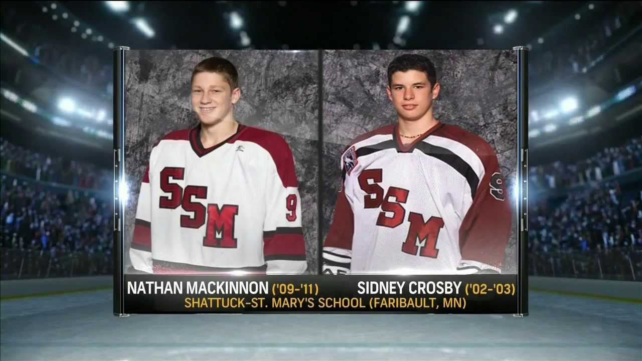 Sidney Crosby And Nathan MacKinnon On NBC Sports Network