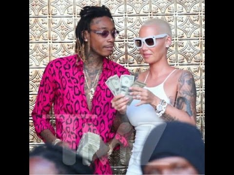 Amber Rose Given $1,000,000 in Alimony and Nearly $15,000 a Month in Child Support from Wiz Khalifa.