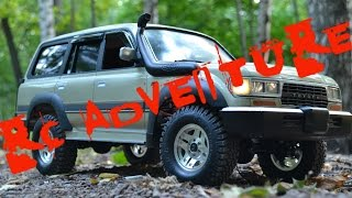 Rc adventure TOYOTA LAND CRUISER 80