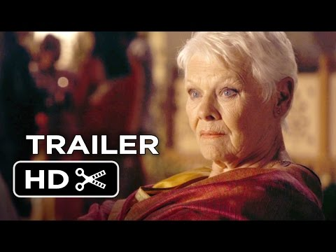 The Second Best Exotic Marigold Hotel Official Trailer #1 (2015) - Judi Dench Movie HD
