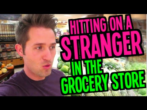 Hitting on a Stranger in the Grocery Store - (Day 21 of Fall-Log-Mas)
