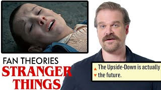 David Harbour Breaks Down Stranger Things Fan Theories from Reddit | Vanity Fair