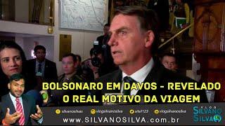 BOLSONARO EM DAVOS - Revelado O Real Motivo da Viagem Para Suíça. Ministros acompanham Presidente