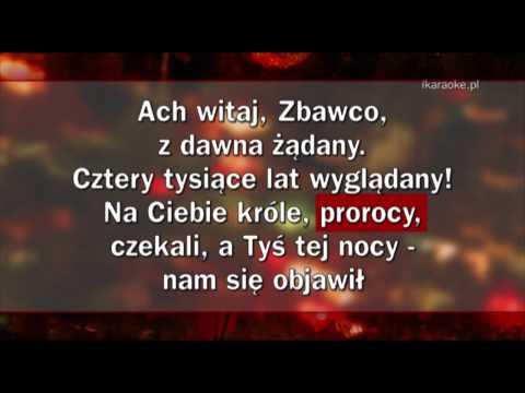 Kolęda - Wśród Nocnej Ciszy (karaoke)