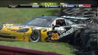 [HD] Grand Am Rolex Sports Car Series 2011 - Crash (Mid Ohio Emco Gears)