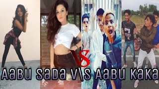 Abu sada V/S Abu KaKa Dance And Funny Dance | Musically India Compilation