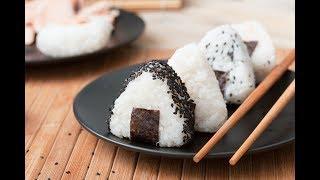 How to Make Onigiri   Japanese Rice Balls at Home.