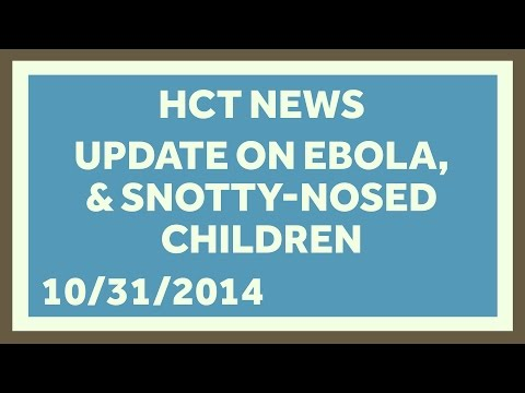 Ebola in America and Placebos Work! Healthcare Triage News