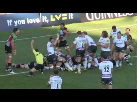Harlequins v London Irish  | Anglo Welsh LV=Cup Highlights - Harlequins v London Irish  | Anglo Wels