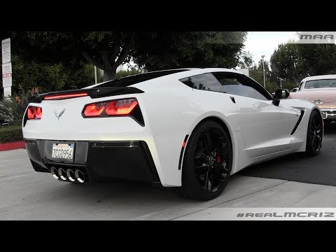 WHITE 2014 Chevy Corvette C7 Stingray