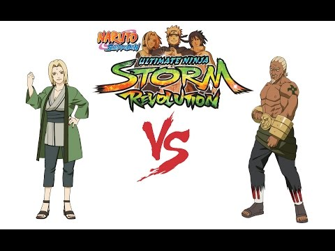 Naruto Shippuden Ultimate Ninja Storm Revolution  Ay (Five Kage) vs Tsunade (Medical Ninjas)