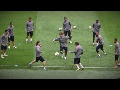 FC Barcelona AMAZING Tiki-Taka Skills