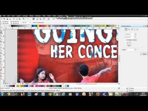 TUTORIAL HOW TO MAKE A FILM POSTER IN CORELDRAW X6