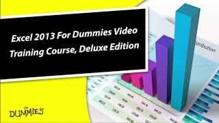 Learn How To Master Microsoft Excel 2013 With Easy To Follow Self Paced Course For Dummies