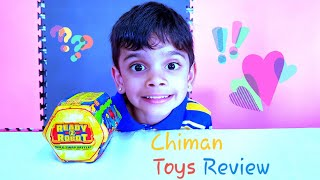 Kid Plays with Toy - Ready 2 Robot Bot Brawlers Slime Chiman