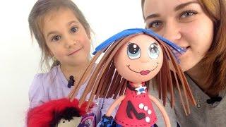 Видео для девочек. Кукла фофуча Кати. Игрушки для девочек.