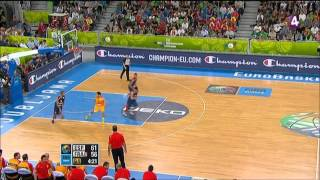 France Vs Spain FIBA EuroBASKET 2013 SemiFinal 4th Quarter HD