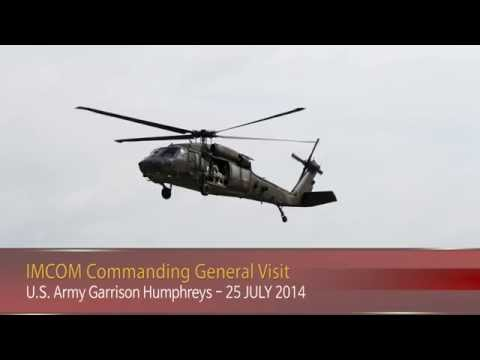 IN FOCUS - IMCOM Commanding General Visit - 25 July 2014