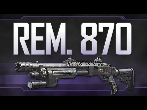 Remington 870 MCS - Black Ops 2 Weapon Guide
