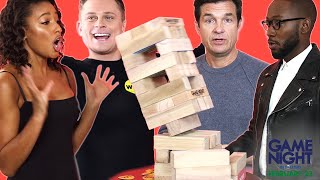 """The Cast of """"Game Night"""" Plays 2 Truths & 1 Lie"""