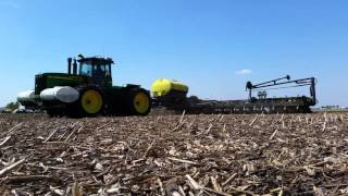 Maximum Farming, powered by Ag Spectrum, dual liquid product application