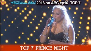 "Gabby Barrett sings ""I Hope You Dance""  1 of THE  BEST VOCALS Prince Night American Idol 2018  TOP 7"