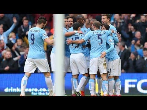 Manchester City 2-0 West Ham United: City win Premier League