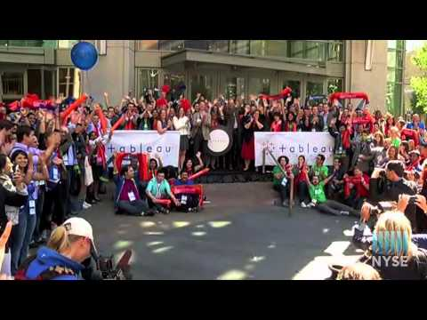 Tableau Software Highlights data14 Conference with NYSE Closing Bell Remote from Downtown Seattle