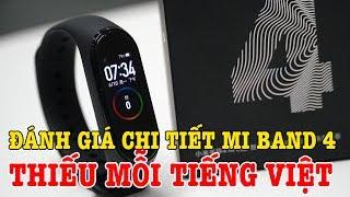 Đánh giá chi tiết Xiaomi Mi Band 4 sau 24h sử dụng: Thiếu mỗi tiếng Việt