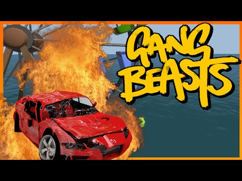 BEST STRESS RELIEVER! | Gang Beasts