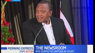The day President Uhuru lost his cool over NYS thieves   Morning Express Discussion