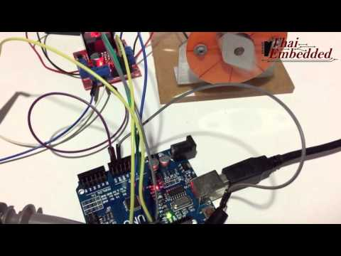 Dc Motor Using a PID Controller in LABVIEW with ARDUINO