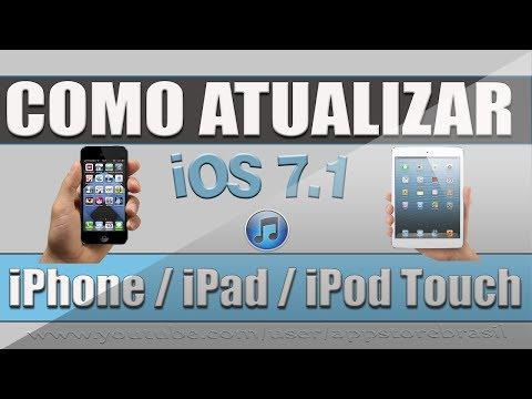 Como atualizar para iOS 7.1 iPhone iPad iPod Touch via iTunes