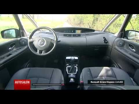 renault grand espace 2 0 dci youtube. Black Bedroom Furniture Sets. Home Design Ideas