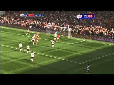 YouTube: Fulham 4-3 Boro