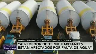 Alcalde de Zaragoza, Coahuila, denuncia desabasto de agua por cervecera Constellation Brand