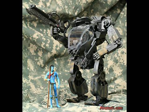 Avatar Toys AMP Suit Vehicle Review HD Unboxing