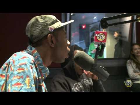 Tyler the Creator on the Cipha Sounds & Rosenberg Show on Friday the 13th pt. 2