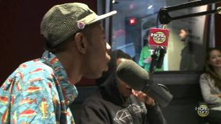 Tyler, The Creator Video - Tyler the Creator on the Cipha Sounds & Rosenberg Show on Friday the 13th pt. 2