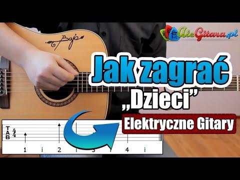 Jak Zagrać Na Gitarze: Elektryczne Gitary - Dzieci