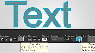 Better text, faster with quick color and customization in PaintShop Pro X9
