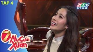 HTV 7 NỤ CƯỜI XUÂN | Khách mời NSND Ngọc Giàu | 7NCX #4 FULL | 4/2/2018